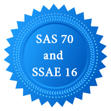 Our data centers are SAS 70 and SSAE 16 compliant